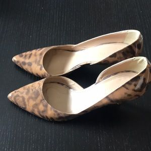 Jcrew Cheetah Print Heels